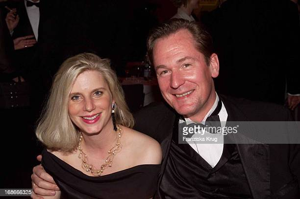Springer CEO Dr Mathias Doepfner and wife Ulrike Ball Of Sports In Frankfurt Am 020202