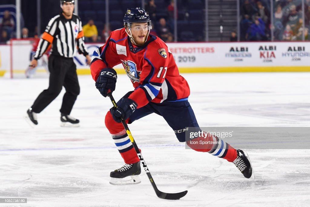 AHL: OCT 20 Springfield Thunderbirds at Laval Rocket : News Photo