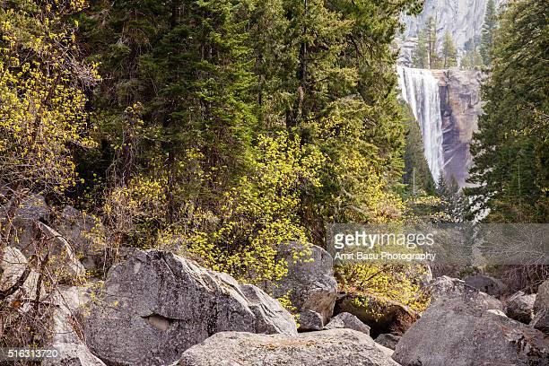 Springtime at Vernal falls, Yosemite National Park, California
