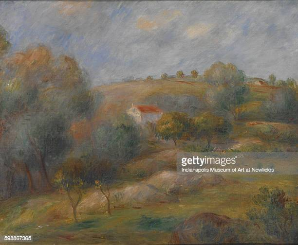 Springtime in Essoyes by French artist Pierre Auguste Renoir about 1900 Centennial gift of Mrs Fisk Landers in memory of Caroline Marmon Fesler