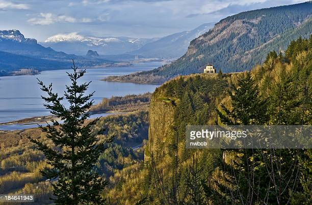 Springtime in the Columbia River Gorge Vista House