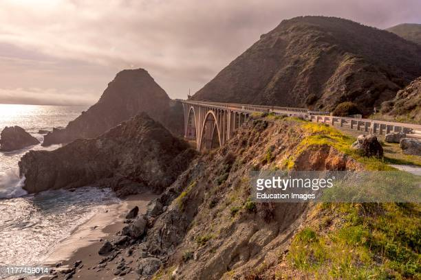 Springtime on California Coast Pacific Coast Highway