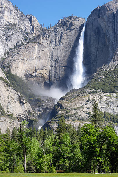 Yosemite Fall in the Spring