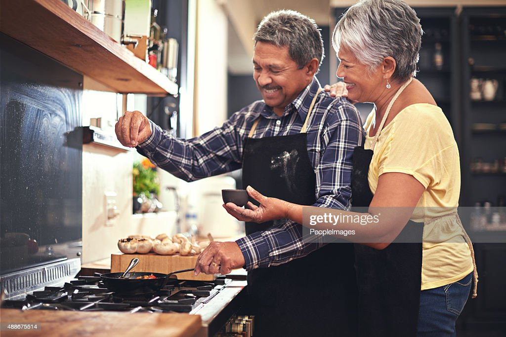 Sprinkles of seasoning : Stock Photo