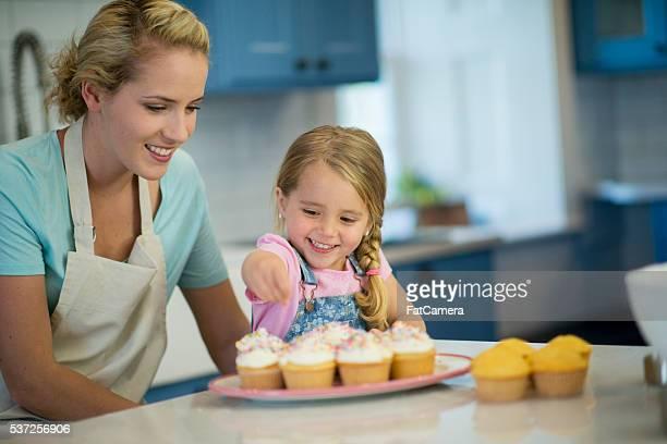Sprinkling Cupcakes