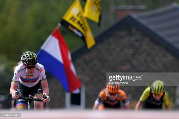 Sprint / Arrival / Anna van der Breggen of The Netherlands and Boels Dolmans Cycling Team / Annemiek van Vleuten of The Netherlands and Team...