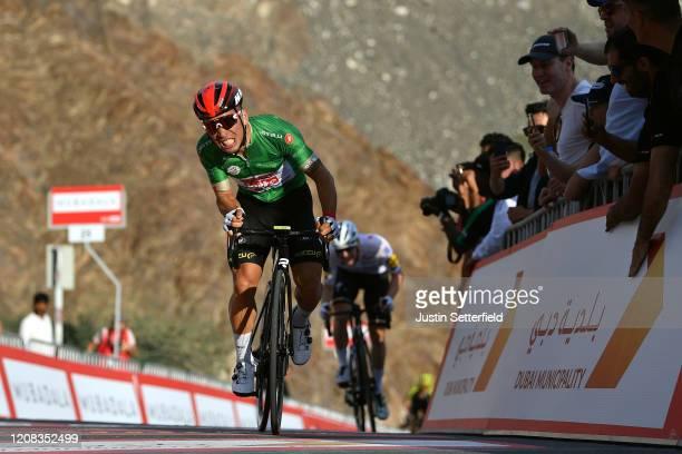Sprint / Arrival / Caleb Ewan of Australia and Team Lotto Soudal Green Points Jersey / Sam Bennett of Ireland and Team Deceuninck - Quick - Step /...