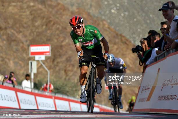 Sprint / Arrival / Caleb Ewan of Australia and Team Lotto Soudal Green Points Jersey / Sam Bennett of Ireland and Team Deceuninck Quick Step / during...