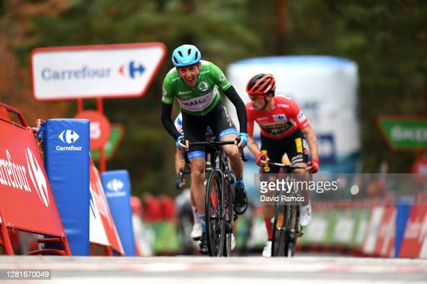 Sprint / Arrival / Daniel Martin of Ireland and Team Israel Start-Up Nation Green Points Jersey / Richard Carapaz of Ecuador and Team INEOS -...