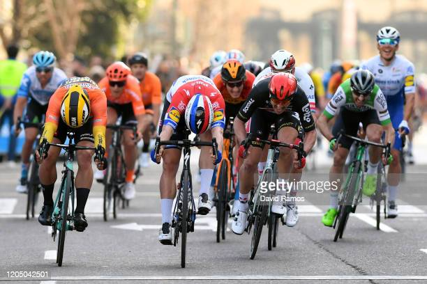 Sprint / Arrival / Fabio Jakobsen of The Netherlands and Team Deceuninck - Quick-Step / Dylan Groenewegen of The Netherlands and Team Jumbo-Visma...