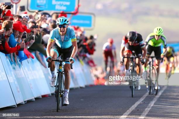 Sprint / Arrival / Magnus Cort of Denmark and Astana Pro Team / Greg Van Avermaet of Belgium and BMC Racing Team / Eduard Prades Reverter of Spain...