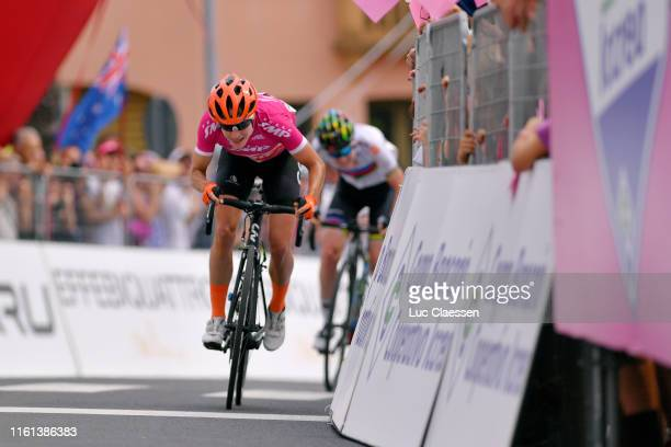 Sprint / Arrival / Marianne Vos of The Netherlands and Team CCC - Liv Cyclamen Points Jersey / Anna Van Der Breggen of The Netherlanda and Boels...