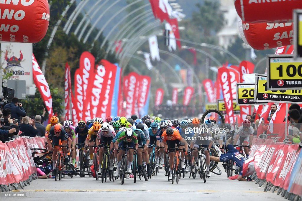56th Presidential Cycling Tour Of Turkey 2021 - Stage 4 : News Photo