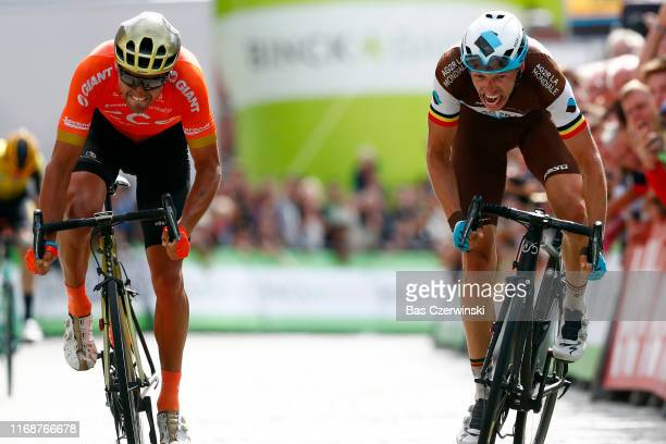 Sprint / Arrival / Oliver Naesen of Belgium and Team AG2R La Mondiale / Greg Van Avermaet of Belgium and CCC Team / during the 15th Binck Bank Tour...