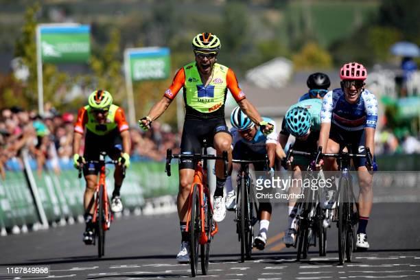 Sprint / Arrival / Umberto Marengo of Italy and Team Neri Sottoli-Selle Italia-KTM / Celebration / Lawson Craddock of The United States and Team EF...