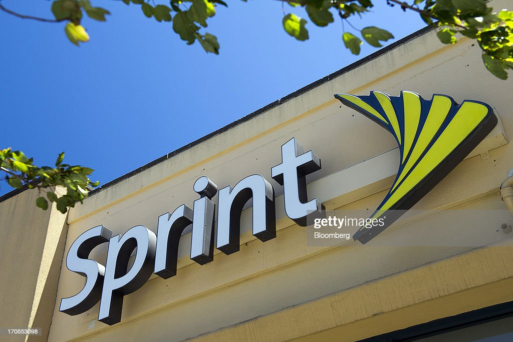Sprint Nextel Corp. signage is displayed on the facade of a store in San Francisco, California, U.S., on Thursday, June 13, 2013. SoftBank Corp. Chief Executive Officer Masayoshi Son, seeking to expand into the U.S. wireless market, said he sees T-Mobile US Inc. as a 'Plan B' acquisition target if he fails to purchase Sprint Nextel Corp. Photographer: David Paul Morris/Bloomberg via Getty Images