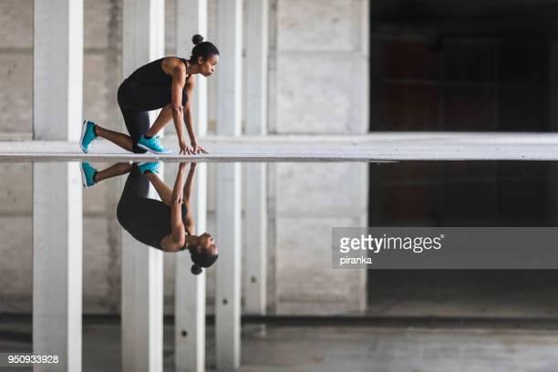 sprint-training - anfang stock-fotos und bilder