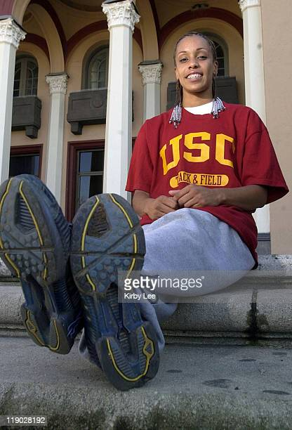 Sprinter Carol Rodriguez a senior at Long Beach Wilson High School has been named to the 2004 Puerto Rican Olympic track and field team Rodriguez who...