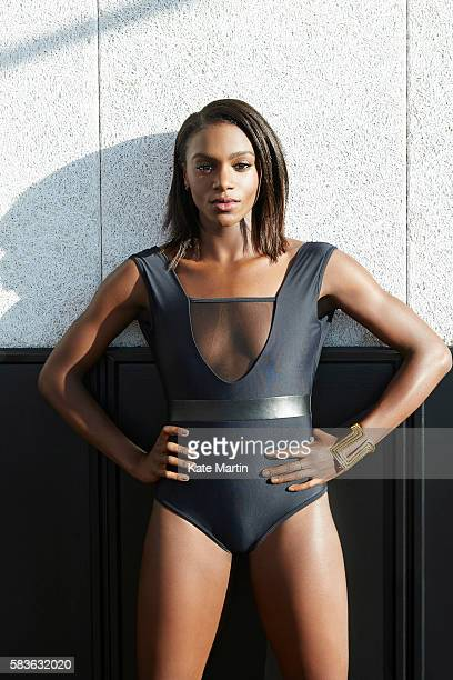 Sprinter Dina AsherSmith for BA HighLife magazine on January 19 2016 in London England