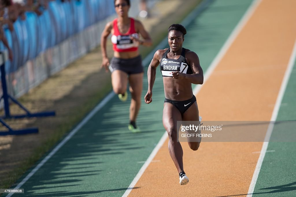 CAN-TRACK-100 METERS : News Photo