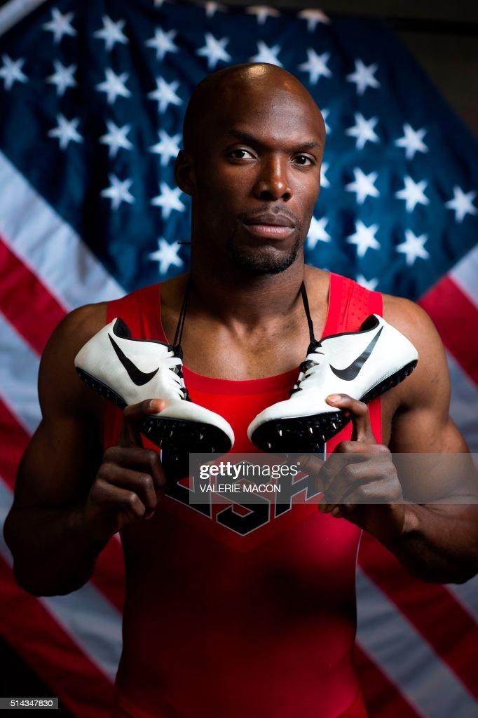 US-OLYMPICS-ATHLETE-PORTRAITS : News Photo