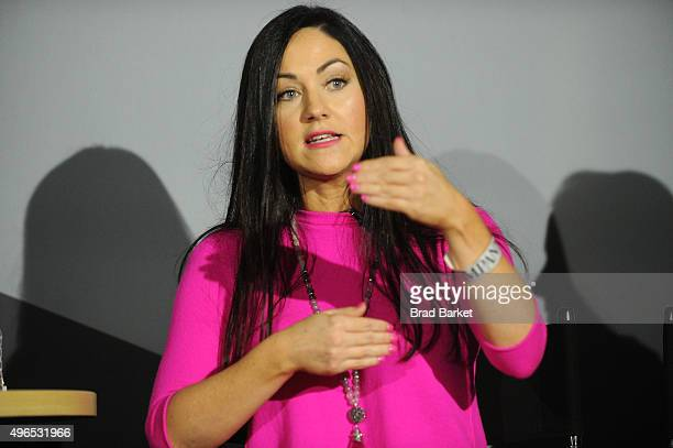 Sprout Pharmaceuticals CEO Cindy Whitehead speaks on stage during 'The Fast Company Innovation Festival' Data Drugs The New Evolution Of Drug Making...