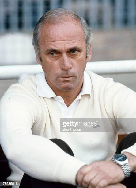 12th May 1982 European Cup Winners Cup Final Barcelona 2 v Standard Liege 1 Udo Lattek Barcelona Coach