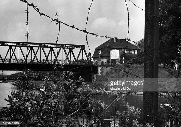 Späth Bridge over the Teltow Canal in Berlin-Britz