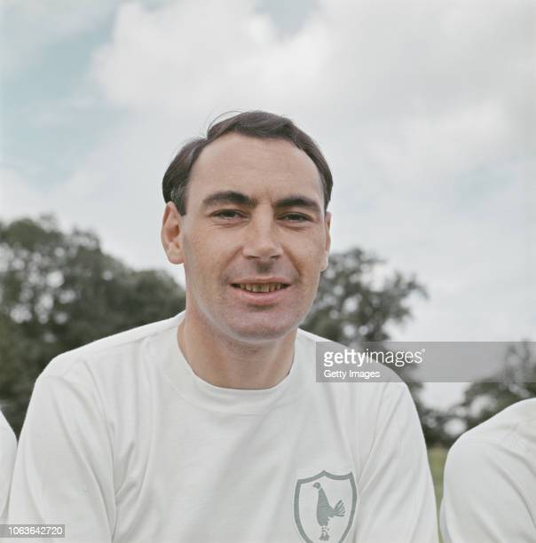 Spurs player Alan Gilzean pictured at the 1966/67 PreSeason photocall at Tottenham Hotspur training ground in 1966