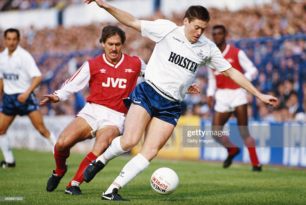 Chris Waddle Tottenham Hotspur : News Photo
