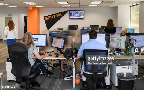 Sputnik a radio station funded by the Russian government is broadcasting from the heart of the nation's capital amid a national controversy about the...