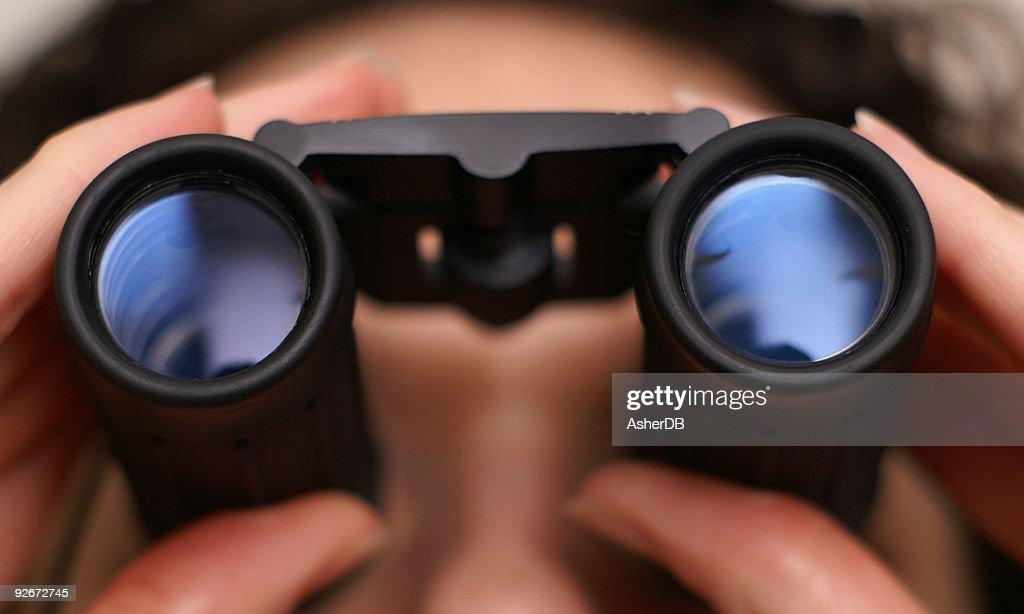 I Spy Binoculars : Stock Photo