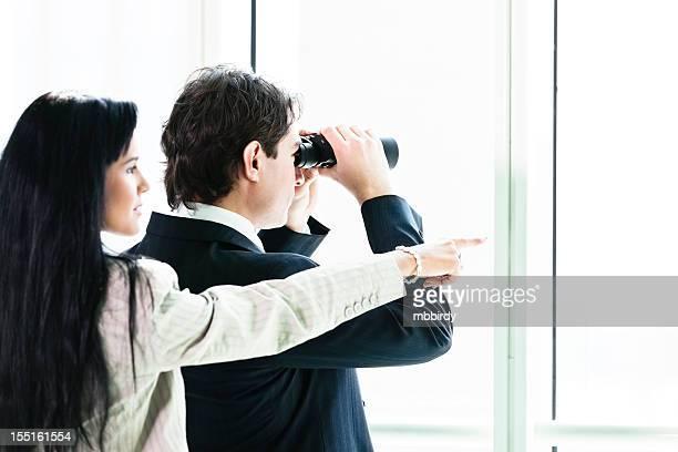 Espionagem Casal de Negócios