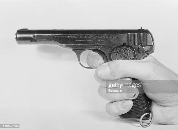 Spy's Weapon London This fully loaded automatic was part of the equipment of Karel Richard Richter a German Secret Service agent executed in London...