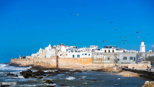 Sqala de la Kasbah, Malecon of the old town of Essaouira, Medina, Unesco World Heritage Site, Morocco