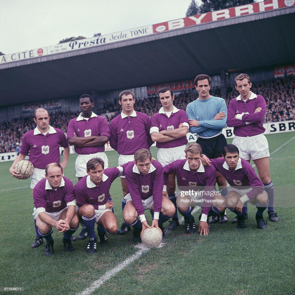 Belgian League Winners Anderlecht : News Photo