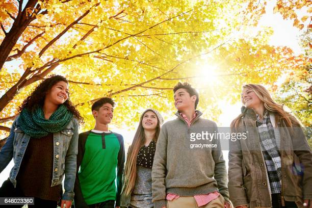 squad goals - teenagers only stock pictures, royalty-free photos & images