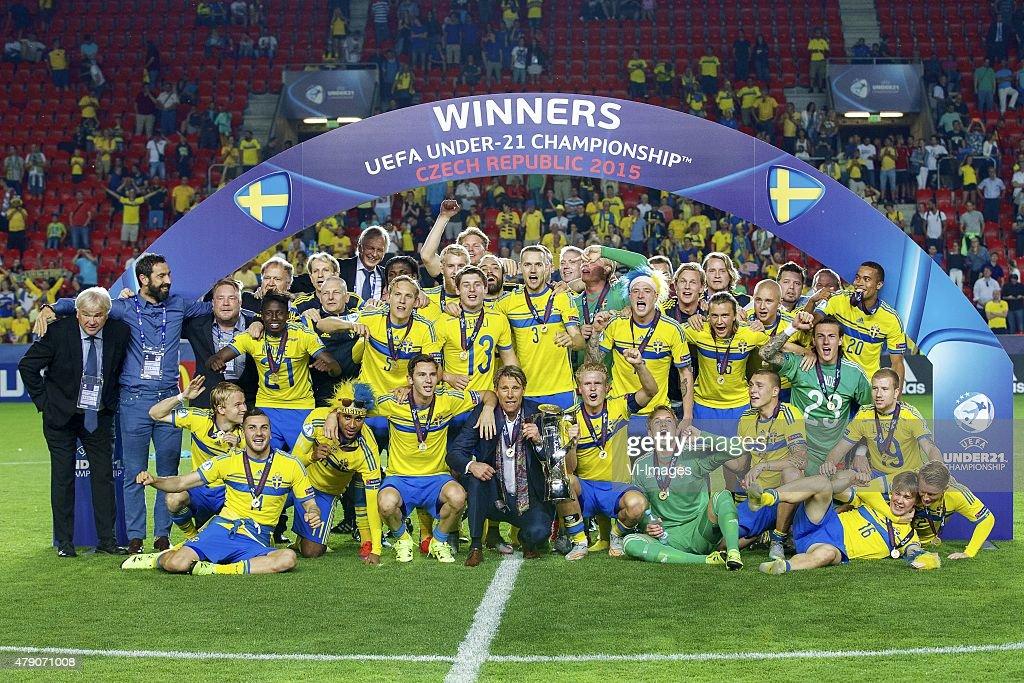 """UEFA European Under-21 Championship - """"Sweden v Portugal"""" : Nachrichtenfoto"""
