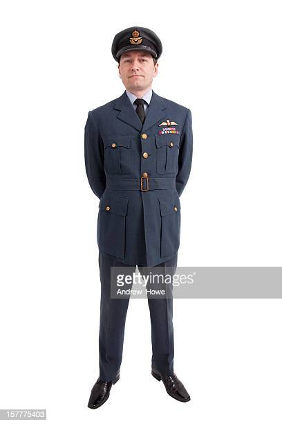 squadron leader - british military stock photos and pictures