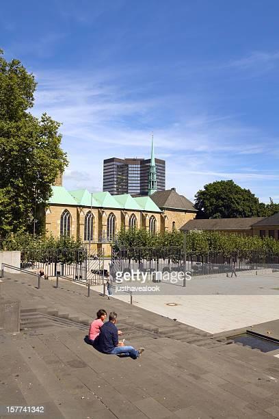 Square Burgplatz in Essen