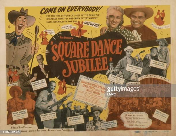 Square Dance Jubilee poster US poster 1949