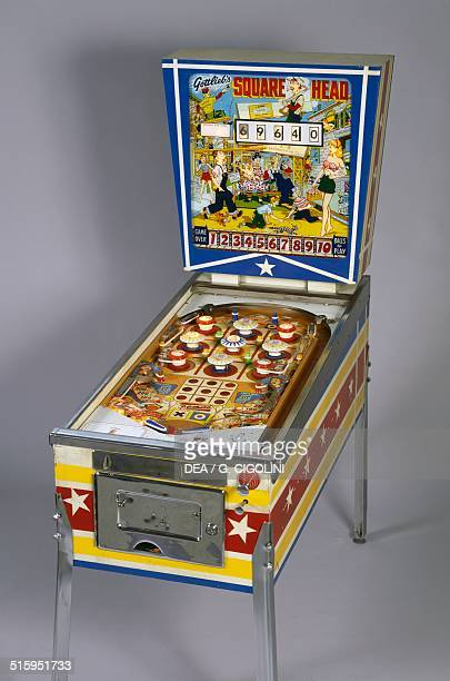 Square Head pinball machine made by Gottlieb United States of America 20th century