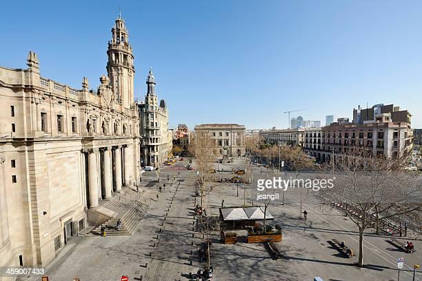 Square, en el centro de la ciudad de Barcelona