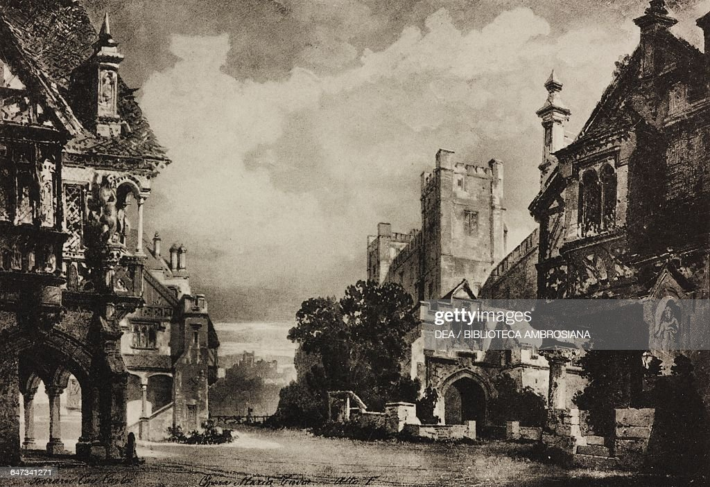 Square in London, scene of opera Maria Tudor : Fotografia de notícias