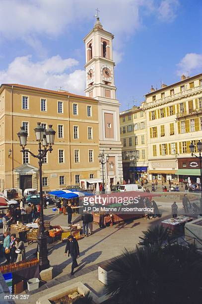 Square in the Old Town, Nice, Alpes Maritime, France