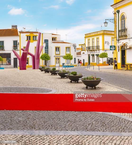 Square Largo de Sao Joao, Beja, Portugal.