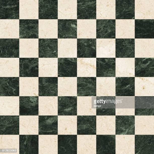 64 square marble chess board