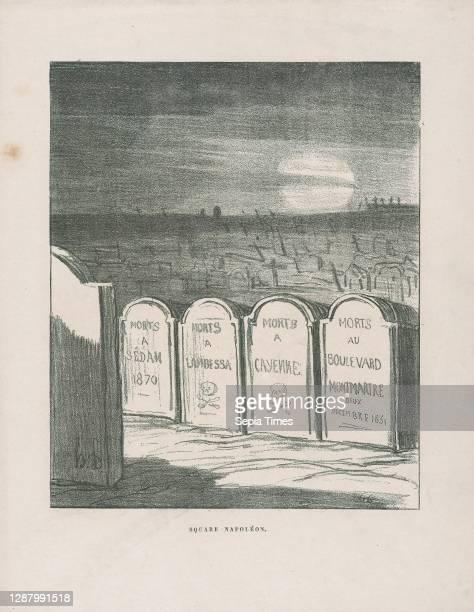 Square Napoleon, from 'News of the day,' published in L'Album du Siege L'Album du Siege, Honore Daumier , Charles-Louis-Napoleon Bonaparte ,...