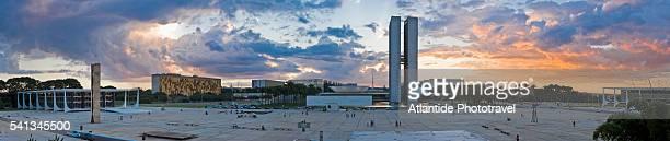 Square of the Three Powers in Brasilia, Brazil