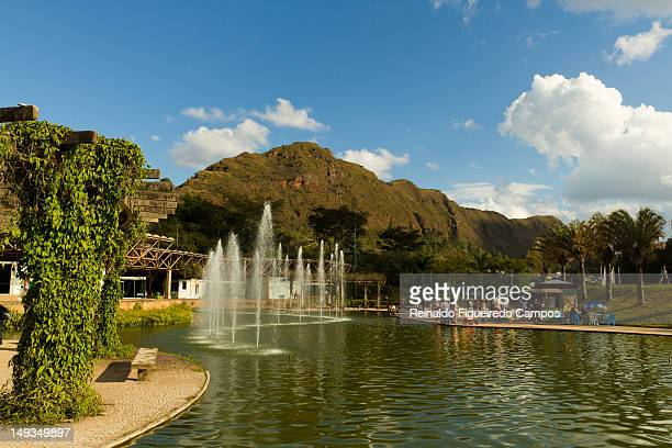 square of waters and sierra corral - belo horizonte stock pictures, royalty-free photos & images